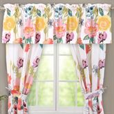 Watercolor Dream Tailored Valance Multi Cool 84 x 19