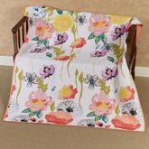 Watercolor Dream Throw Blanket Multi Cool 50 x 60