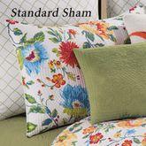 Sabrina Quilted Sham White Standard