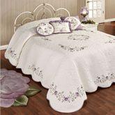 Vintage Bloom Bedspread Pearl