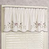 Vintage Bloom Tailored Valance Pearl 60 x 18