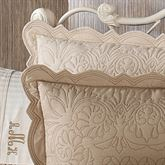 Evermore Almond Quilted ShamAlmond