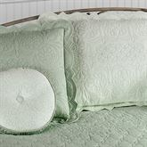 Evermore Celadon Quilted ShamCeladon