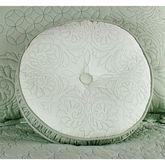 Evermore Celadon Tufted Round PillowCeladon14 Round