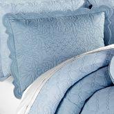 Evermore Powder Blue Quilted ShamPowder Blue