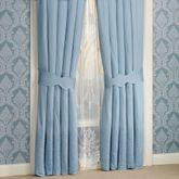 Evermore Powder Blue Tailored Curtain PairPowder Blue88 x 84