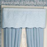 Evermore Powder Blue Tailored ValancePowder Blue53 x 20