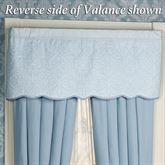 Evermore Powder Blue Tailored ValancePowder Blue53 x 20