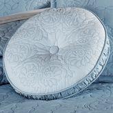 Evermore Powder Blue Tufted Round PillowPowder Blue14 Round