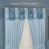 Evermore Powder Blue Swag Valance