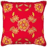 Charismatic II Embroidered Pillow Orange 20 Square
