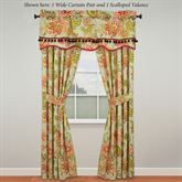 Charismatic II Wide Curtain Pair Celadon 100 x 84