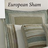 Newport Stripe Piped Sham Multi Warm European