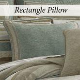Newport Stripe Piped Pillow Multi Warm Rectangle
