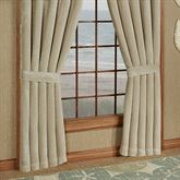 Newport Stripe Tailored Curtain Pair Multi Warm 98 x 84
