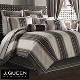 Bennington Comforter Set Platinum Gray