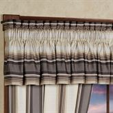Bennington Tailored Valance Platinum Gray 88 x 15