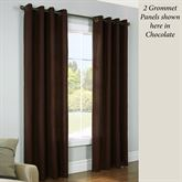 Rhapsody Crushed Thermavoile Grommet Curtain Panel