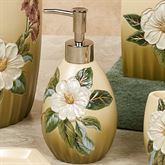 Sweet Magnolia Lotion Soap Dispenser Fern