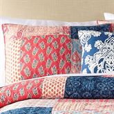 Grace Quilted Sham Multi Bright Standard