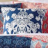 Grace Embroidered Pillow Multi Bright 18 Square