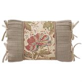 Camille Tailored Pillow Ecru Rectangle