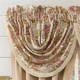 Camille Waterfall Valance Ecru 48 x 33