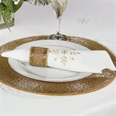 Touch of Gold Napkins Ivory Set of Four