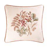 Amison Embroidered Pillow Ecru 18 Square