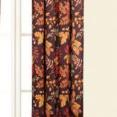 Amison Tailored Curtain Panel Chocolate 50 x 84