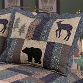 Highlands Quilted Sham Multi Warm Standard