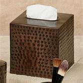 Pressed Metal Tissue Cover Oil Rubbed Bronze