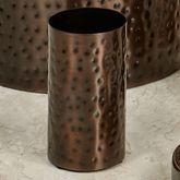 Pressed Metal Tumbler Oil Rubbed Bronze