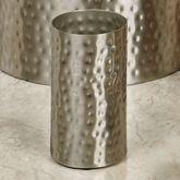 Pressed Metal Tumbler Silver