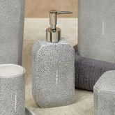 Shagreen Lotion Soap Dispenser Gray