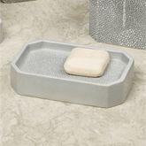Shagreen Soap Dish Gray