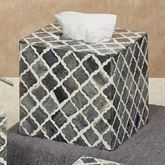 Marrakesh Lattice Tissue Cover Gray