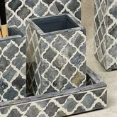 Marrakesh Lattice Tumbler Gray