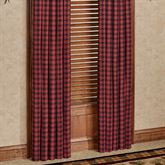 Cumberland Tailored Curtain Pair Multi Warm 80 x 84