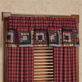 Cumberland Tailored Valance Multi Warm 60 x 16
