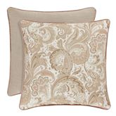 Caitlin Reversible Piped Pillow Almond 20 Square
