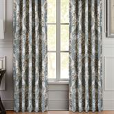 Crystal Palace Wide Tailored Curtain Pair French Blue 100 x 84