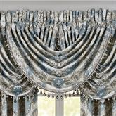 Crystal Palace Waterfall Valance French Blue 43 x 33