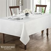 Moonscape Oblong Tablecloth White