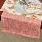 Melange Coral Table Runner 15 x 72