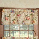 Fruit Garden Tailored Valance Straw 56 x 12