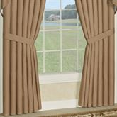 Newell Wide Tailored Curtain Pair