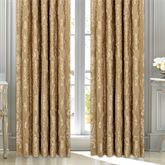 Concord Wide Tailored Curtain Pair Harvest Gold 100 x 84