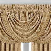 Concord Waterfall Valance Harvest Gold 43 x 33