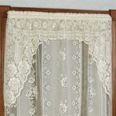 Victorian Lace Swag Valance Pair 72 x 38